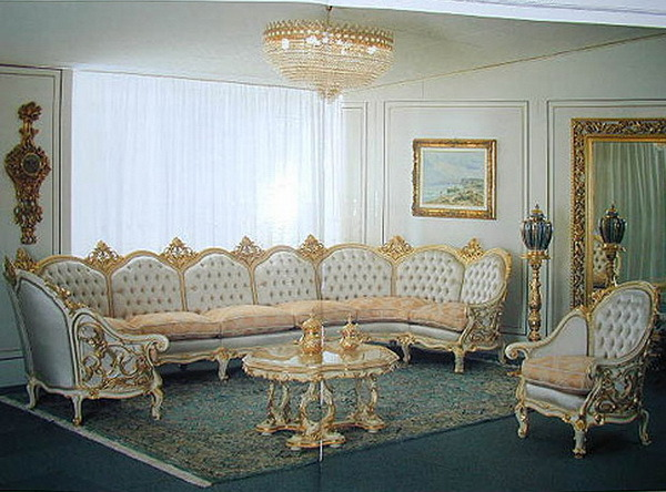 Kursi Set Sofa Mahkota
