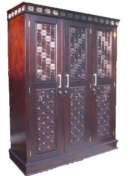 Lemari Minimalis Mahoni | Nirwana Furniture
