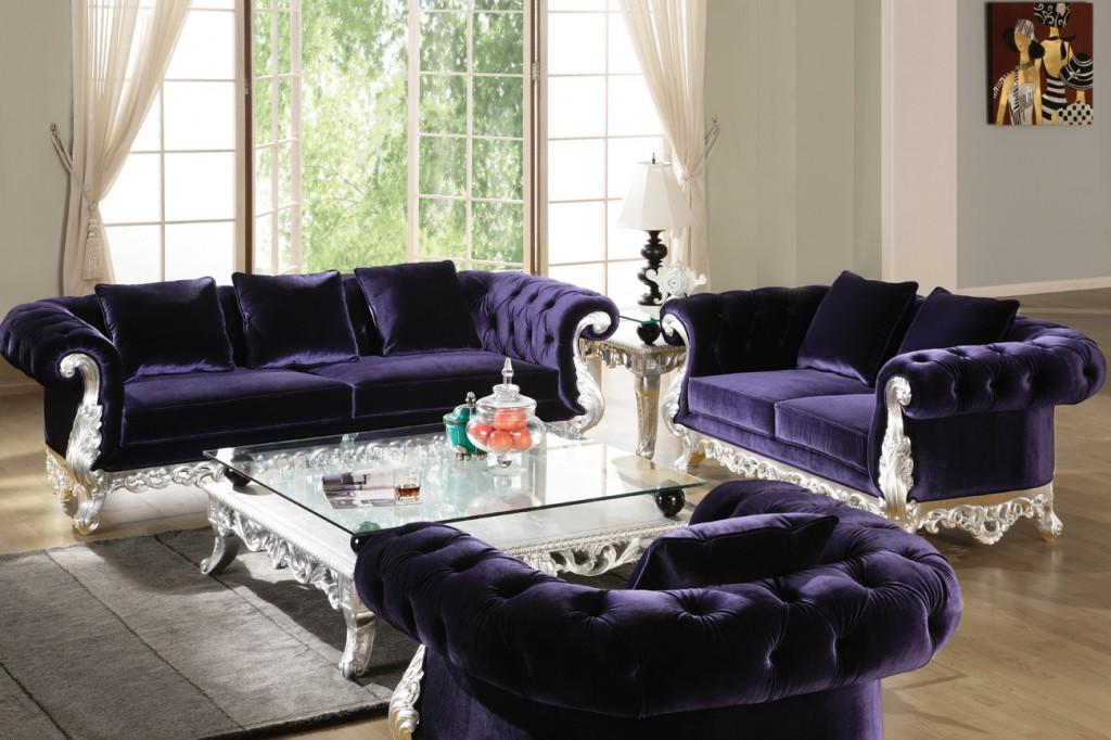 Sofa Mewah Semi Ukir