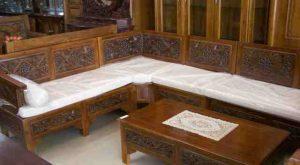 Kursi Sudut Ukir Jepara   Nirwana Furniture