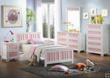Set Tempat Tidur Anak Pink | Nirwana Furniture