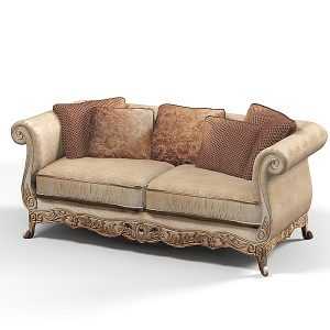 Kursi Sofa Ukir Brown | Nirwana Furniture