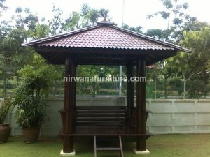 Gazebo Minimalis - Nirwana Furniture