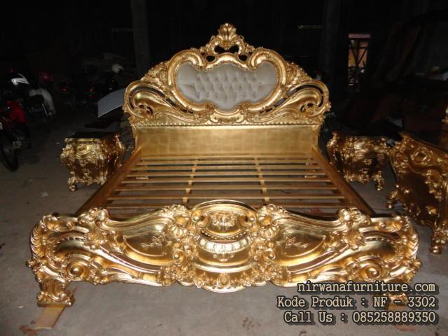Tempat Tidur Kamar Utama Model Baroque