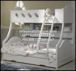 Tempat Tidur Anak Perempuan Model Susun