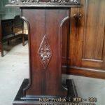 podium kayu jati
