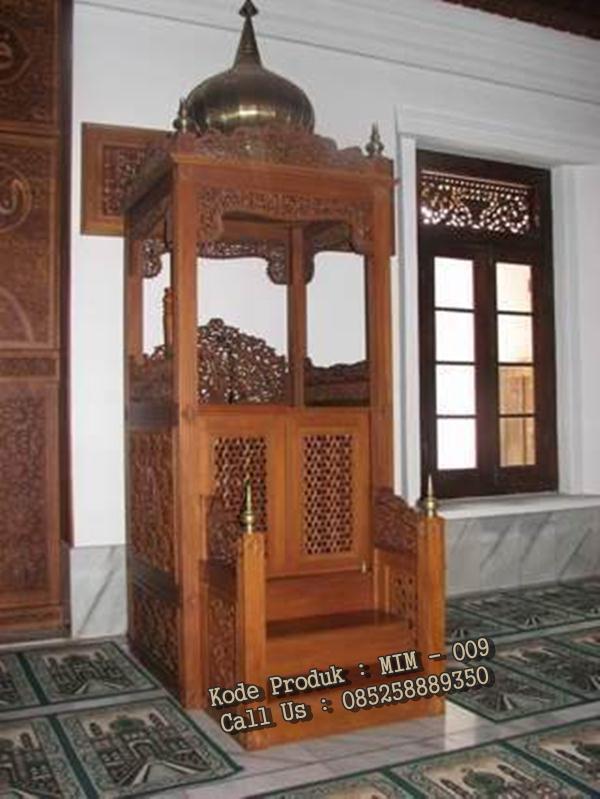 jual mimbar masjid