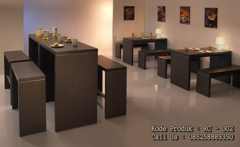jual meja makan restoran dan cafe