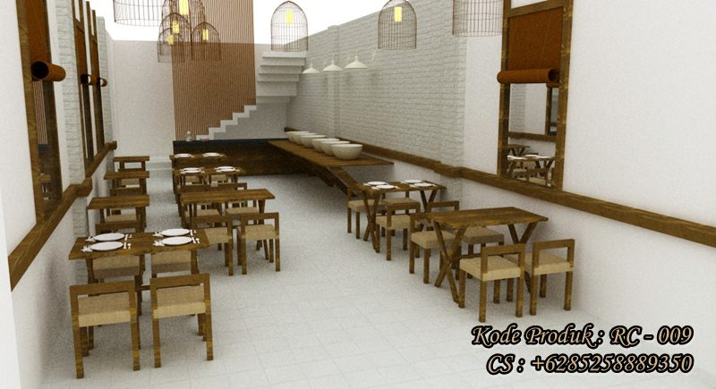 Jual Kursi Dan meja makan Restoran