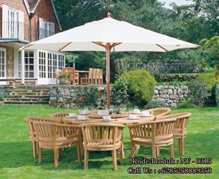 Meja Payung Kursi Betawi