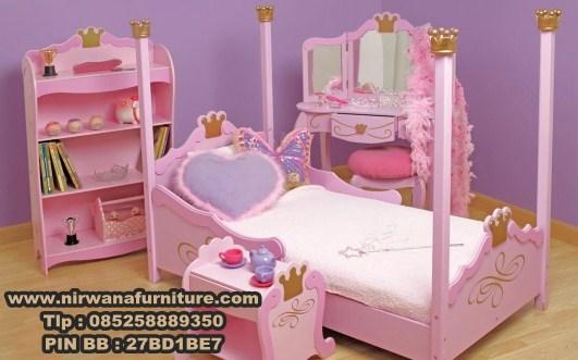 Desain Tempat Tidur Anak Princes - Jual Tempat Tidur Anak