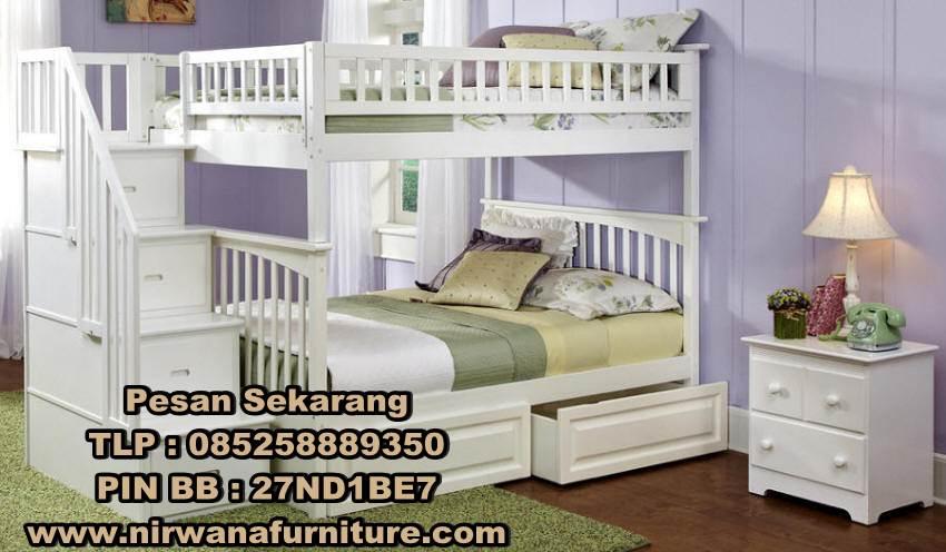 Tempat Tidur Tingkat Model Klasik Minimalis - Desain Tempat Tidur Tingkat Klasik Minimalis - Jual Tempat Tidur Tingkat