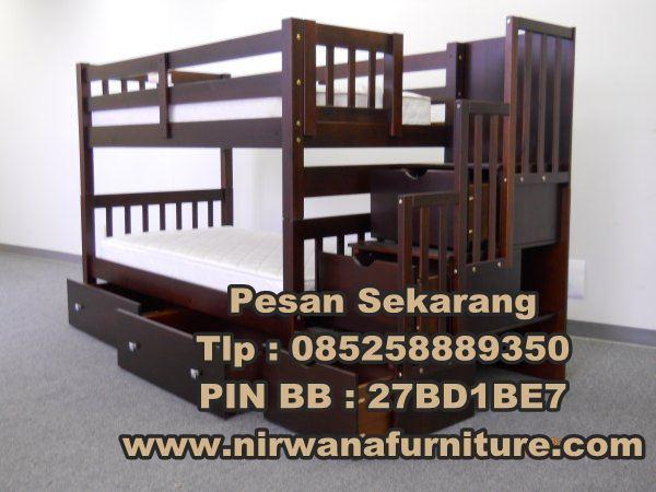 Tempat Tidur minimalis model susun - Jual tempat tidur minimalis model susun