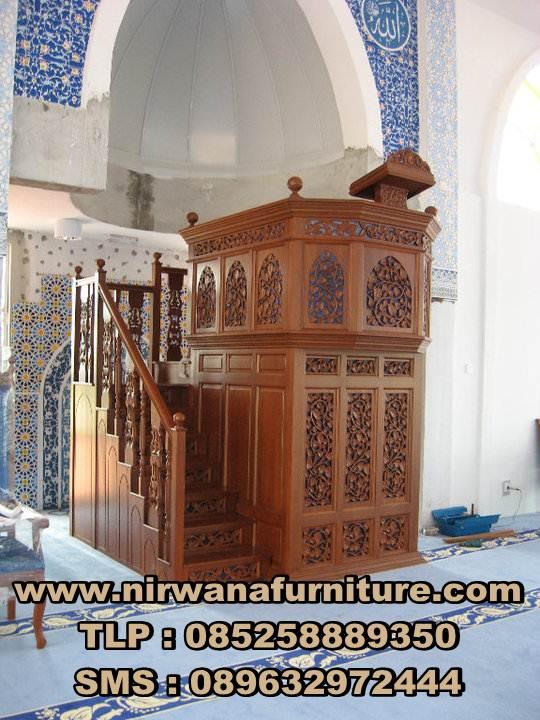 mimbar menara untuk masjid