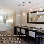 meja makan minimalis elegan