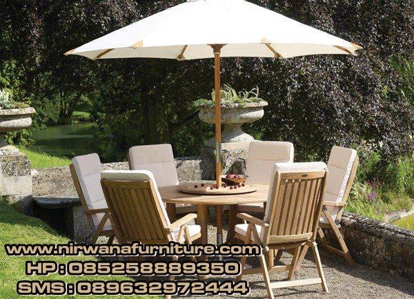 meja payung garden mewah