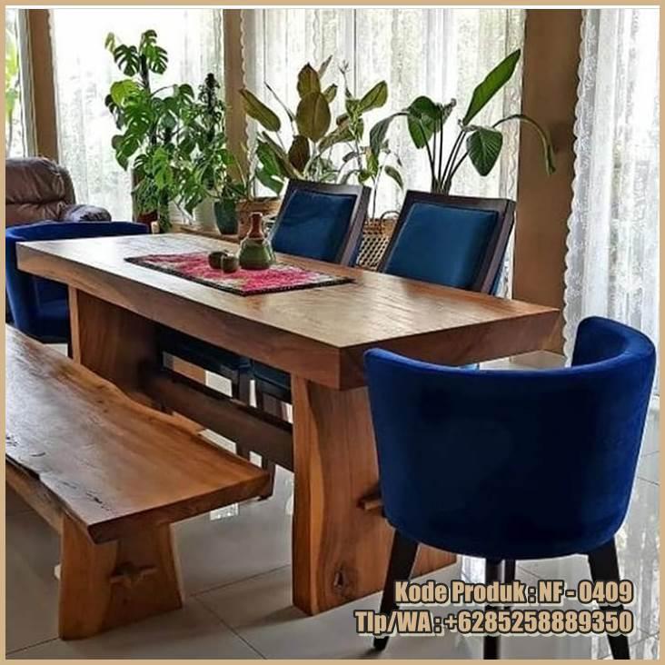 meja-makan-minimalis-modern-kayu-trembesi