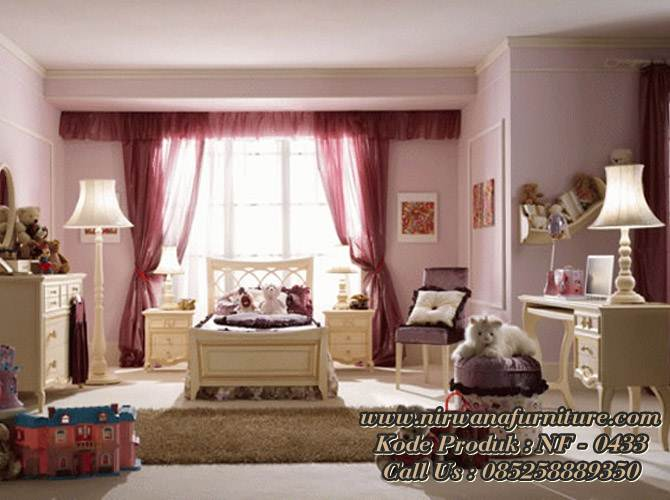 Kamar Set Anak Model Princes