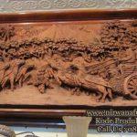 Relief Ukir Kayu Jepara Cerita Ramayana