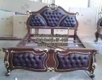 Jual Tempat Tidur Mewah Kayu Jati Model Terbaru