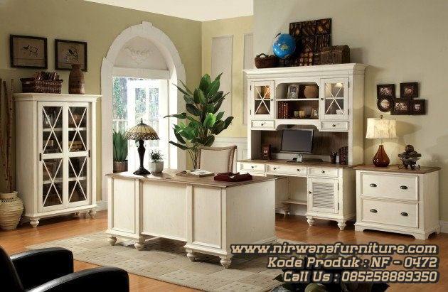 Modern office desks - Home Office Meja Kerja Minimalis Modern Toko Mebel