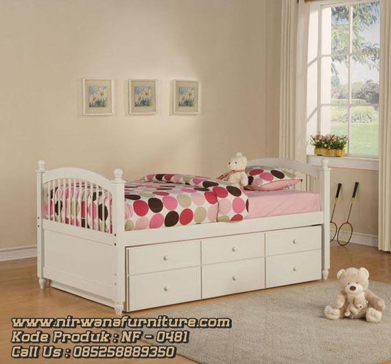 Tempat Tidur Sorong Untuk Anak
