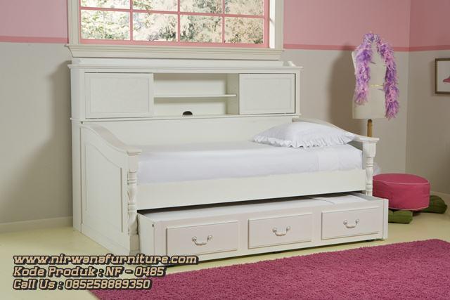 Jual Tempat Tidur Anak Model Sorong