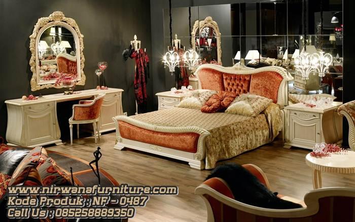 Luxury Style Tempat Tidur Mewah Untuk Kamar Utama