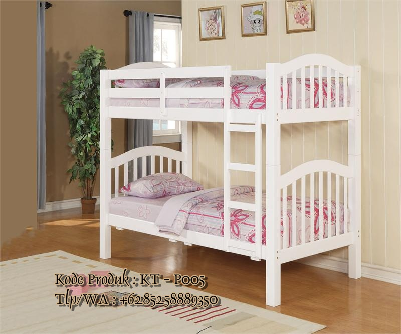 model tempat tidur susun anak perempuan