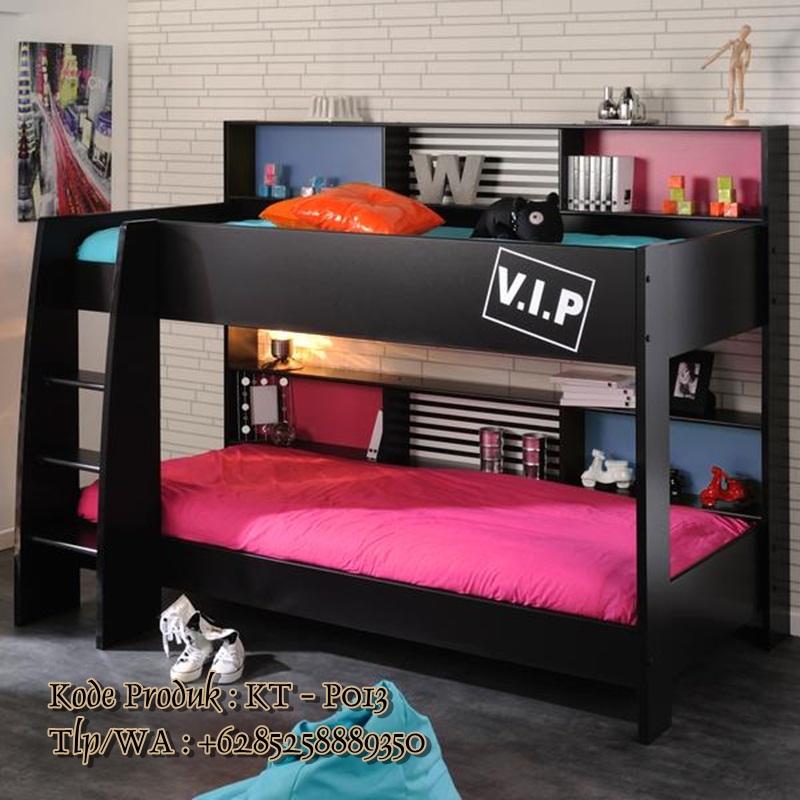 tempat tidur tingkat model terbaru