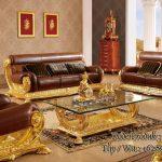 jual Sofa Kursi Tamu Ukiran Model Mewah Raffi Ahmad harga murah