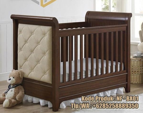 box bayi minimalis kayu jati