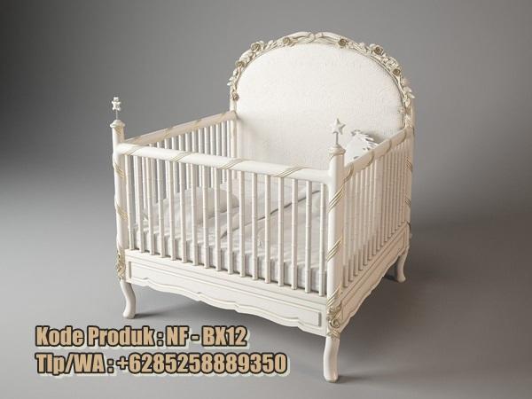 tempat-tidur-bayi-model-klasik-ukir-cat-duco
