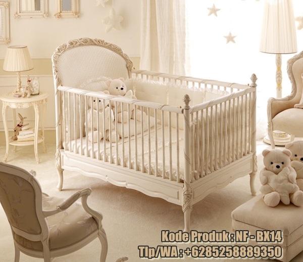 tempat-tidur-bayi-model-klasik-ukiran-mewah