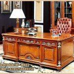 meja-kantor-kayu-jati-ukiran-jepara